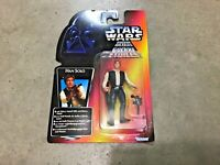 Vintage RARE 1995 Star Wars red card French Canadian POTF Han Solo Figure!