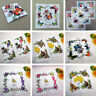 20PCS Hankies Women Handkerchief Floral Wedding Hanky 30*30cm Random Color SH