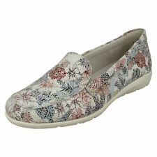 Ladies Remonte Slip On Shoes 'D1919'