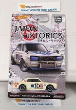 Nissan Skyline HT 2000GT-X * Hot Wheels Japan Historics Car Culture * Y6