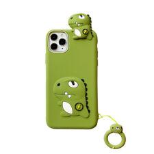 Hot Cute Dinosaur Ring Creative Cartoon Lovely Soft Case Cover For Various Phone