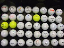 40 x Srixon SOFT FEEL Golf Balls Excellent Quality Minor Player Markings (B22)