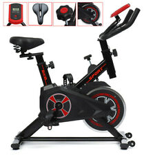 Exercise Bike Home Gym Bicycle Cycling Cardio Fitness Training Indoor 150kg UK