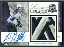 LUC ROBITAILLE 08/09 Cup Auto'd Limited Logos Crazy Patch #40/50 LA Kings 1/1