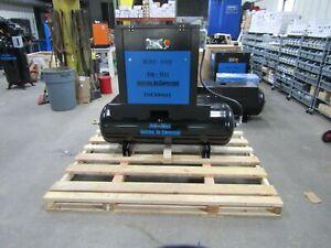 Air-Max 10hp.3 ph.Rotary Screw air Compressor W/desiccant dryer 12 year warranty