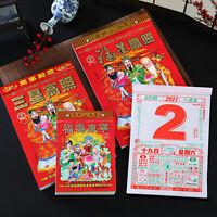 2021 Chinese Calendar Agenda Daily Scheduler Home Office Hanging Decor Proper