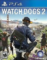 Watch Dogs 2 - Playstation 4 PS4 -  NEW SEALED  FREE SHIPPING!!!