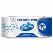 Lingettes  Antibactérienne 60pc,  D-pantenol, détruit 99,9% des bactéries