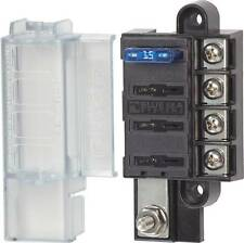 Blue Sea 5045 Blade Fuse Block With Cover Compact 4 Circuits Marine 4x4 Caravan