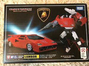 Takara Transformers Masterpiece MP-12+ Sideswipe Boxed New Genuine version UK.