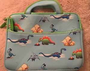 Evecase Kids Dinosaur Tablet Case - 11in X 8in