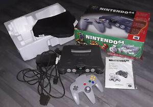 Nintendo N64 NTSC-U American Console Boxed with RGB Mod SLIGHT FAULT