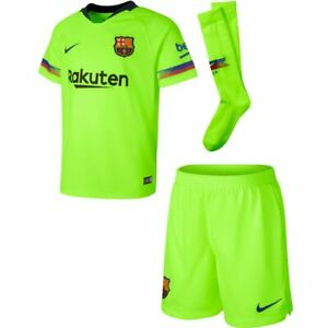 Barcelona 2018-19 Away Mini-Kit (age 4-5, 104-110cm) purchased From Nike Store
