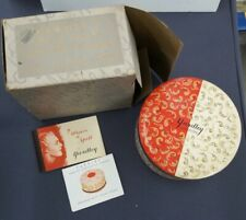 Vintage Yardley Bond Street Dusting Powder with Outer Box Unopened & Pamphlets