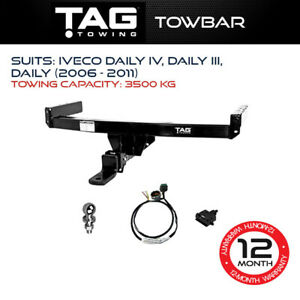 TAG Towbar Fits Iveco Daily IV Daily III Daily 2006-2011 Towing Capacity 3500Kg