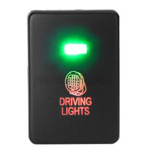 LED Push Switch Driving Lights For Mitsubishi Mirage LA Outlander Triton MQ MR