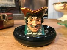Vintage English Royal Doulton Character Dick Turpin D8135 Display Bar Ash Bowl