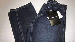 NWT Girls $38 Adademiks Dark Blue Straight Leg Denim Blue Jeans Size 10 ~CUTE