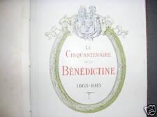 Bénédictine Fécamp Liqueur Cinquantenaire distillerie