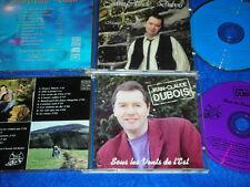 2 CD JEAN CLAUDE DUBOIS sous les vents de l'est MUSIQUE D'ALSACE matins bleus