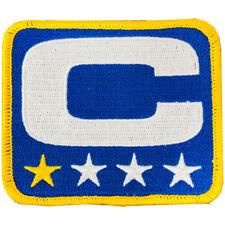 TEAM CAPTAIN 'C' BADGE NEW YORK GIANTS FOOTBALL JERSEY PATCH ELI MANNING