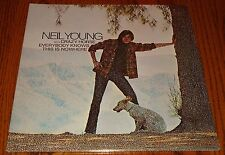 """NEIL YOUNG WITH CRAZY HORSE EVERYBODY KNOWS THIS IS NOWHERE 12"""" LP STILL SEALED!"""