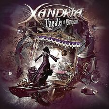 XANDRIA - THEATER OF DIMENSIONS (2LP BLACK VINYL)  2 VINYL LP NEU