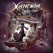 XANDRIA - THEATER OF DIMENSIONS (2LP BLACK VINYL)  2 VINYL LP NEU