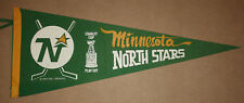 Vintage 1969 1970 Minnesota North Stars Stanley Cup Playoffs 30x12 Pennant