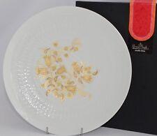 Boxed Rosenthal BJORN WIINBLAD Studio Line Romanze Plate (27.6cm) Embossed Gilt