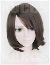 Final Fantasy X Yuna Summoner FF10-2 Anime Costume Cosplay Wig Hair NEW