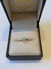 Wwake Nestled Opal Ring Yellow Gold Size 7.5 $400
