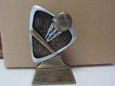 "Baseball trophy or award, about 5.5"" tall, engraving included, Brand New Design!"