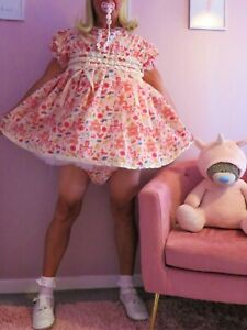 Sissy/Adult Baby cotton Play  Dress set From Nanny Sue