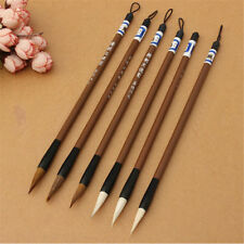 3 Chinese Japanese Water Ink Painting Writing Calligraphy Brush Pen Set Art Tool