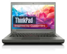 """Lenovo THINKPAD T440p Core i7 2,90GHz 8GB 160GB SSD 14 """" Dvdrw 1600x900 WIND10"""