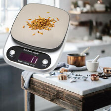 10kg/0.1g Mini Portable Scales Precision Kitchen Electronic Balance Weight Grams