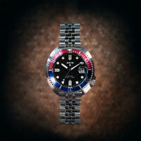 AKIO Turtle Automatic Divers Watch, NH35 Seiko Movement