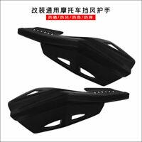 Paire de guidon 7/8 '' 22mm Garde-main noir pour Honda Yamaha Suzuki Suzuki KTN