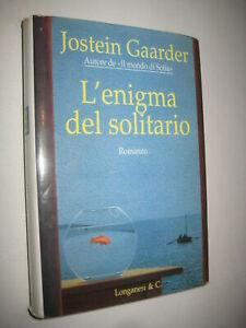 LIBRO: J.GAARDER- L'ENIGMA DEL SOLITARIO- LONGANESI & C-1996