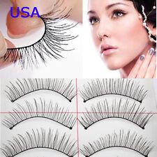 Makeup Handmade Natural Fashion Long False Eyelashes Eye Lashes Sparse 10pairs