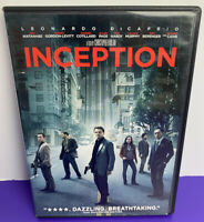 Inception (DVD, 2010)  Leonardo DiCaprio, Christopher Nolan, Widescreen