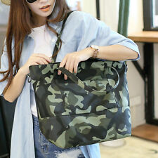 Women's Shoulder Bag Camo Camoflage tote Shopping Cross Handbag Lady Strap New
