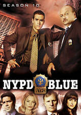 NYPD BLUE COMPLETE TENTH SEASON 10 TEN (5 DVD Set) NEW FREE SHIPPING