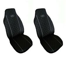 Front Seat Covers Land Rover Freelander, Discovery, Defender GREY PIPING