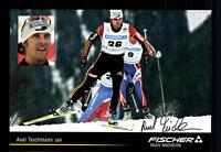 Axel Teichmann Autogrammkarte Original Signiert Skilanglauf+A 123892