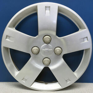 """ONE 2006-2011 Chevrolet Aveo # 3250 14"""" Hubcap / Wheel Cover GM # 96653144 USED"""