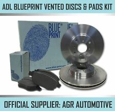 BLUEPRINT FRONT DISCS AND PADS 256mm FOR NISSAN 100NX 2.0 1991-94