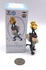 Banpresto Mega Disney Lion King RAFIKI HOLDING KIARA Figure Japan RARE!
