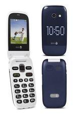 NUOVO ** DORO 632 ** Blu-Bianco Big Button Sbloccato Fotocamera 3g TELEPHONO facile da usare
